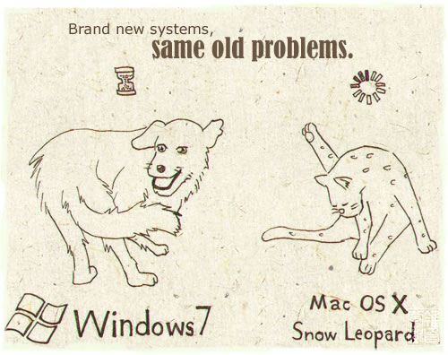 Brand new systems; same old problems